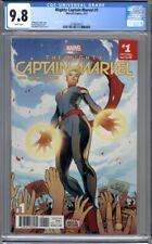 Mighty Captain Marvel #1  Carol Danvers Avengers Marvel Movie 1st Print CGC 9.8