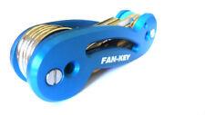 Fan-Key - Key Organizer - Blue