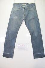 Levis 506 Standard Stretch(Cod.Y1724) tg47 W33 L32 jeans usato Vita Alta Vintage