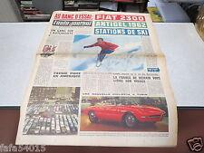 L AUTO JOURNAL N° 285 16 novembre 1961 Essai Fiat 2300/ Bilan des salons Sport *