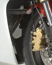 Honda CBR600F 2011 R&G Racing Downpipe Grille DG0005BK Black