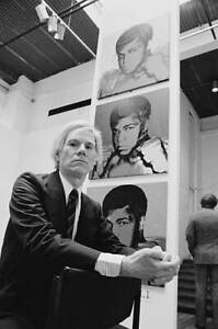 American Artist Andy Warhol 1978 OLD PHOTO