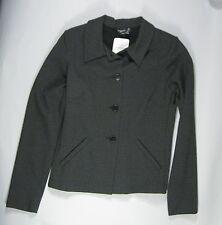 NEW Agnes B Size 1 ? Jacket Woman's Veste Cruella Black Paris Noir Coat NWT