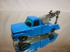 HUSKY FORD F350 RECOVERY TRUCK - BLUE 1:64? - GOOD CONDITION
