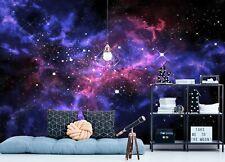 3D Leuchtende Sterne ZHUC339 Tapete Wandbild Fototapete Abnehmbarer Amy
