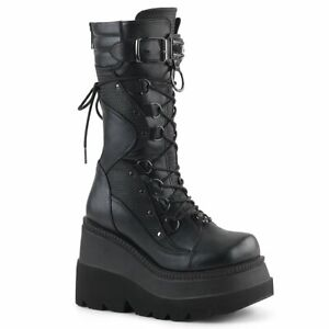 SHAKER-70  Black Vegan Leather