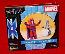 Marvel X-Men Minimates Magneto & Professor X Figure 2 Pack AFX Exclusive Diamond