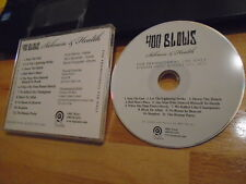 RARE ADVANCE PROMO 400 Blows CD Sickness & Health metal punk CIRCLE JERKS Crom !