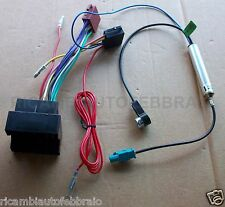 Adattatore per Autoradio Fakra / Iso + Antenna Per Citroen - Peugeot - Fiat