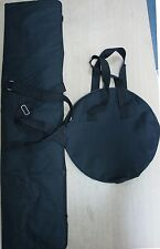Dance Dancing Pole Carry Bags, Long one for Poles & Round one for Dome & Base