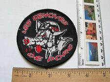 Les Gencives De Porc Motorcycle Patch (#1317)