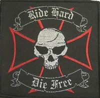 RIDE HARD DIE FREE AUFNÄHER / PATCH # 1