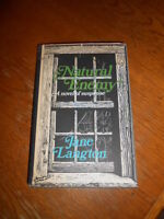 Natural Enemy by Jane Langton. Signed with illustration by author. 1st edition