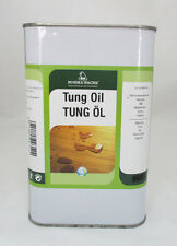 Tungöl - Holzöl - 1 Liter-Gebinde