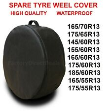 """R13""""  SPARE TYRE COVER WHEEL PROTECTIVE TYRE BAG SPACE SAVER FOR ANY CAR D52"""