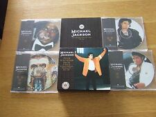 MICHAEL JACKSON TOUR SOUVENIR PACK LTD EDT 4 CD PICTURE DISC SET MJ4