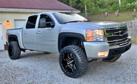 Textured 07-14 Silverado 2500 3500 OE Style Fender Flares 6.5 8' Ft Beds Only