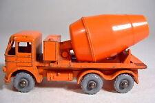 Matchbox RW 26B Foden Cement Mixer orange grobe graue Räder