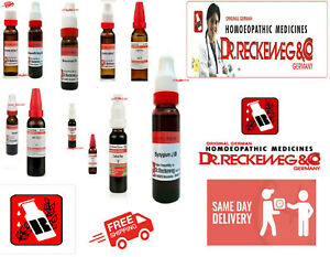 Dr. Reckeweg Germany range of Mother Tinctures Q promotional prices  20 ml each