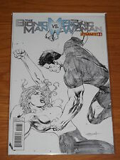 BIONIC MAN VS BIONIC WOMAN #1 NM (9.4) DYNAMITE COMICS SKETCH COVER