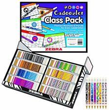 Zebra Cadoozles Classroom Pack #2Hb 0.9Lead 8 Designs-320 Pencils