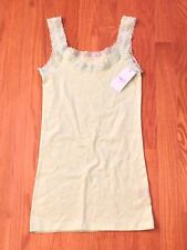 NEW Rue 21 forever light green lace strap body shaper cami tank S