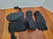 Swimming Scuba Snorkeling Medium Gloves Small Boots Straps To Tighten
