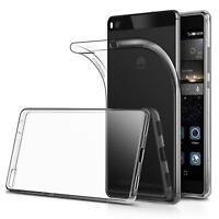 Dünn Slim Cover Huawei P8 Handy Hülle Silikon Case Schutz Tasche