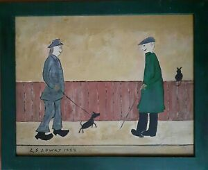 Ls lowry ORIGINAL oil painting on board