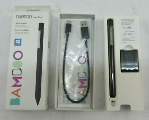 Wacom Bamboo Ink Plus Smart Stylus for Windows Ink Devices CS322AK0A Black