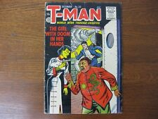 """T-Man # 30 - Quality Comics - 1955 - """"Red China"""" Story - Vg 4.0"""