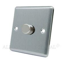 MATT Black classica luce dimmer 1000w 10 Amp 1 Gang 2 Way-CSC 1 gdim 10