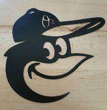 Baltimore Orioles Bird metal wall art plasma cut decor
