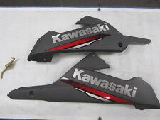 Kawasaki Ninja 300 EX300 13-17 Lower Fairings Cowlings Gray Red Decals Used