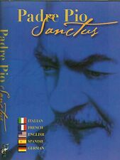 Padre Pio Sanctus DVD NEW Man Of God Documentary Multiple Languages