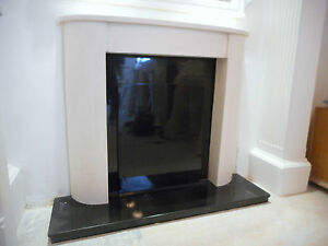 F23 Wave Fire Surround in Plaster - BIRMINGHAM COLLECTION ONLY