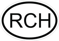 Chile RCH Sticker Car Sticker Motorcycle Car Nationality Plate