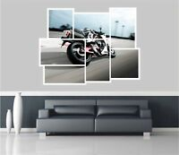 Huge Collage View Yamaha Motorbike Racing Wall Stickers Wallpaper 624