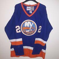 New York Islanders CCM Bossy Hockey Jersey #22