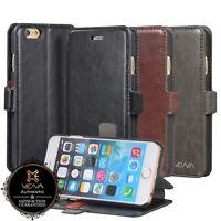Premium Vintage Leather Wallet Flip Stand Card Slot Case for iPhone 6 / 6 Plus