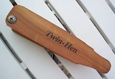 """Vintage Ben Lee - """"Twin Hen"""" Turkey Call - Signed & Dated"""