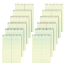 Tops Steno Books 6 X 9 Gregg Ruled 80 Sheets Green Pack Of 12