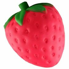 Slow Rising Jumbo Giant Red Strawberry Squishies Squishy - UK Seller & Stock