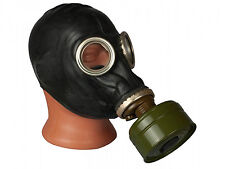 Soviet Russian GP 5 Black Gas mask with full set, New with Filter Bag Military