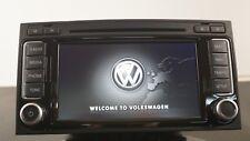 OEM VW RNS 510 LED SSD SATNAV MP3 DVD UNIT 7E0035680D / TOUAREG TRANSPORTER T5