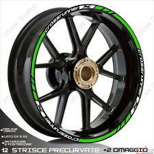 Trims Stickers Sport Wheel Wheel Honda VFR 800 x Crossrunner White Green