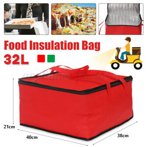 15'' Pizza Food Delivery Bag Insulated Thermal Storage Container Picnic