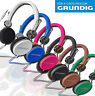 GRUNDIG Original Stereo Kopfhörer Cool Color 105dB WOW Heim Kino Headphones MP3
