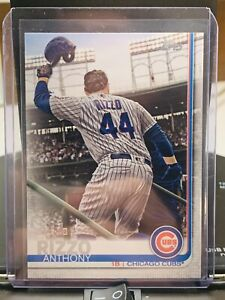 Anthony Rizzo 2019 Topps SP Photo Variation #596 Non Auto SSP Chicago Cubs *X