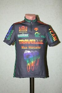 Descente Cycle Jersey Shirt Travel Club Max Hurzeler Ole Team Suisse Size S Rare